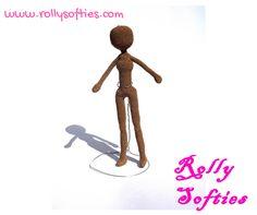 Female amigurumi doll free pattern : Step-by-steo English free pattern for a female amigurumi doll. Free scheme in Italian for an amigurumi doll. Crochet Dolls Free Patterns, Amigurumi Patterns, Doll Patterns, Crochet Doll Clothes, Knitted Dolls, Crochet Bunny, Free Crochet, Crochet Toys, Patron Crochet