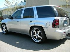 The first step is to know you need new tires. You'll need a fresh one, clearly if there's a very big hole in your tire. Custom Chevy Trucks, Gmc Trucks, 2007 Chevy Trailblazer, S10 Blazer, Gmc Envoy, Chevy Ss, Hyundai Cars, Trail Blazers, Custom Wheels