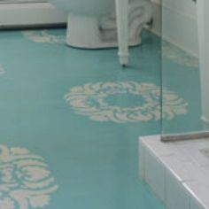 painted concrete floors pictures   Painted concrete floor medallions   Painted Floors