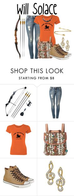 """""""Will Solace"""" by aquatic-angel ❤ liked on Polyvore featuring STELLA McCARTNEY, Sakroots, Converse and Blue Nile"""