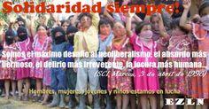 Pronunciamiento desde Colima en solidaridad con las Bases de Apoyo Zapatistas del Caracol III