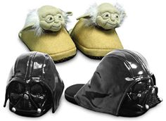 Yoda and Darth Vader Slippers #starwars | Calamity Anne's Adventures