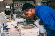 Rialheim Artisans blowing magic into the Century Collection.   #CeramicsReimagined #HandmadeinSouthAfrica #Robertson #RobertsonSouthAfrica #DreamBelieveFly #SouthAfrica #celebrateartisans #Artisans #FlagshipStore #Johannesburg #GetRialheimReady #3DTiles #potplantstands #lighting #Pendants #tablelamps #Decor #walldecor #serveware #gifts #gift #SouthAfricandesign #ProudlySouthAfrican #Design #Interiordesign #focuswall #functionalart #festiveseason #summer #Celebrate #7years #craftingmagic
