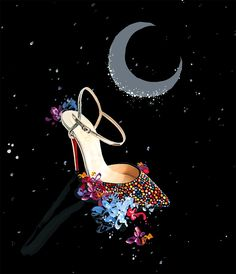 News - Christian Louboutin Online - Moon Struck: Clair de Lune