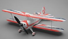 Art Tech Pitts Biplane 3D 4 Channel RC Remote Control Airplane RTF 2.4Ghz RC Remote Control Radio