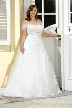 Ladybird Wedding Dress PlusSize LS316073