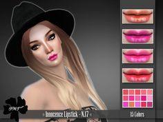 IMF Innocence Lipstick N.17 by IzzieMcFire at TSR via Sims 4 Updates