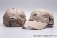 Diamond Curved Brim Caps Adjustable Hats Beige only US$8.90 - follow me to pick up couopons.