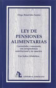 Ley pensiones alimentarias