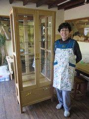 2011年4月25日 みんなの作品【キャビネット】 大阪の木工教室arbre(アルブル)