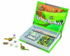dinosaur books and gift - magnetic scene board