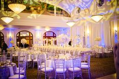 Winter-Inspired Reception Décor    Photography: Philip Thomas Photography   Read More:  http://www.insideweddings.com/weddings/an-all-white-winter-wedding-in-houston-texas/616/