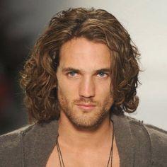 cabelo masculino comprido - Pesquisa Google