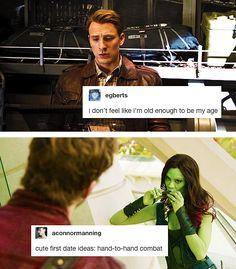 Marvel + text posts