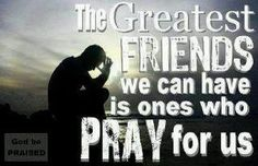 I am so thankful for my prayer warriors and count it a privilege to pray for others.
