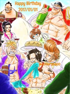 One Piece, Whitebeard Pirates