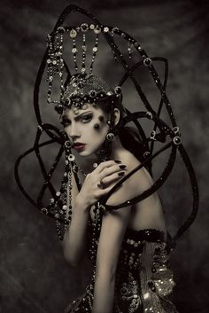 Voodica - Ewelina Von B - makeup Marzena Rygielska - stylist Karina Czapla - designer Siccone