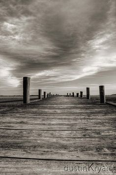 Sol Legare Dock in Sepia | by Dustin K. Ryan