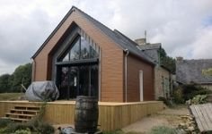 DEROUET constructeur de maison bois en Mayenne (53), expert en charpente et couverture.