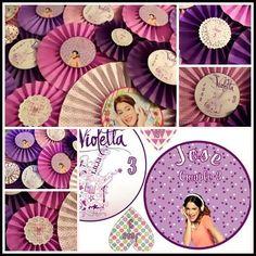 #Violetta #Party #Rosetones