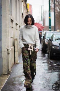 Yoyo Cao by STYLEDUMONDE Street Style Fashion Photography