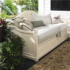 Paula Deen Home Day Bed with 2 Storage Drawers by Paula Deen by Universal - Johnny Janosik - Daybed Delaware, Maryland, Virginia, Delmarva