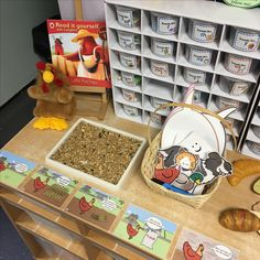 EYFS Little red hen - write a speech bubble for one of the characters