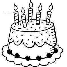 Manos Maravillosas Sello tarta cumpleaños