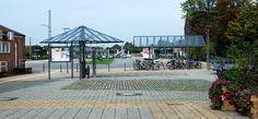 Busbahnhof Bohmte, Überdachungen, Fahrradüberdachungen, Fahrgastüberdachungen, Buswartehalle, Wertstoffeinhausung, Stadtmobiliar, public design