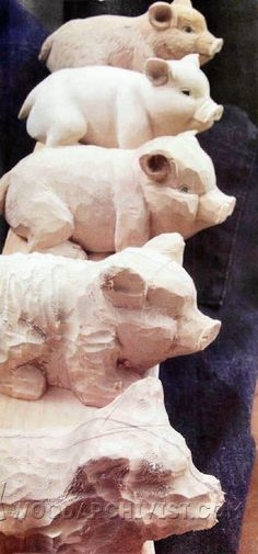 Carving Porker - Wood Carving Patterns and Techniques | WoodArchivist.com
