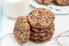 Chewy Oatmeal Chocolate Cookies - tried them and like them! Next time might omit the cinnamon though...