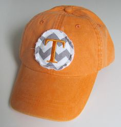 Tennessee Monogrammed Baseball Cap Personalized Hat Bridesmaid Birthday Gift on Etsy, $18.00