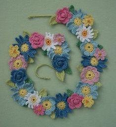flower garland...