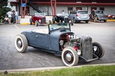 Simple. #HotRod #perfection at the #HotRodDirtDrags