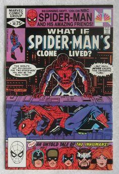 What If? #30 (Nov 1981, Marvel) Spider-Man app VF+ 8.5
