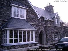 Example of stone dwelling detailing in Co. Simple Style, Cork Ireland, House Design, Windows, Architects, Stone, Home Decor, Rock, Decoration Home