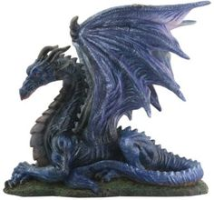 This gorgeous Midnight Dragon Statue Figurine Display has the finest details and highest quality you will find anywhere. The Midnight Dragon Statue Figurine Display is truly remarkable. Product is crafted with: Resin. Dark Fantasy, Medieval Fantasy, Fantasy Wire, Medieval Swords, Magical Creatures, Fantasy Creatures, Mythological Creatures, Dragon Tattoo With Skull, Dragon Tattoos