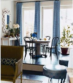 Sara Ruffin Costello, Interior Designer Extraordinaire Favorites For  Friday. Find This Pin And More On Dining Room Window Treatments ...