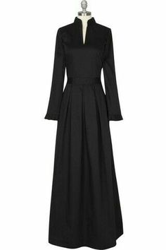 Sophia Gown - Black direct link to the seller inverted pleats on the skiirt, wonderful details. now thats a LBD i can get behind Islamic Fashion, Muslim Fashion, Modest Fashion, Muslim Dress, Hijab Dress, Dress Up, Abaya Designs, Islamic Clothing, Abaya Fashion