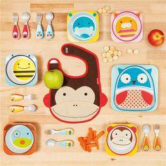 Skip Hop Zoo Tableware Hippo Bowl found on Layla Grayce #laylagrayce #circus #nursery