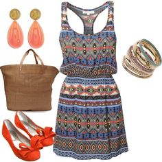 """summer is in"" by sidoney-sterling on Polyvore"