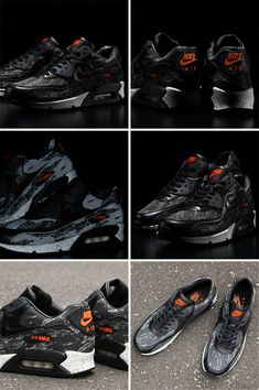 #nike #airmax 90 black tiger #camo by atmos #sneakers