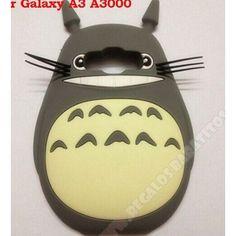 Carcasa 3D diseño Mi vecino Totoro silicona divertida para tu móvil Galaxy A3