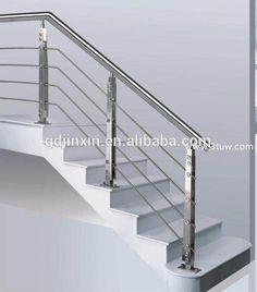 Best Modern Interior Stair Railing Modern Stainless Steel 400 x 300