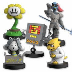 Hero of the Royal Guard. inches tallHand-painted, injection-molded vinylRemovable basePackaged in a windowed collectors boxThis official UNDERTALE figurine was modeled by Gijs van Kooten. Undertale T Shirt, Undertale Cute, Undertale Comic, Undertale Merchandise, Toby Fox, Anime Gifts, Plushies, Geek Stuff, Games