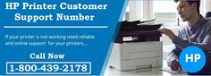 Contact our certified technicians to resolve HP printer technical issues like paper jam, printer offline, ink cartridge jam, wireless connectivity and much more. Dial HP printer customer support number +1-800-439-2178 to reach live support desk. Our technicians are available 24/7 to provide instant reply to your query.