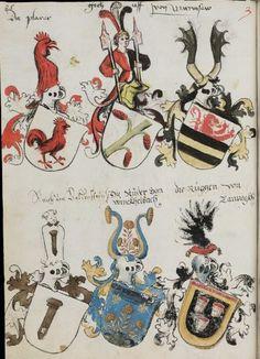 Wappenbuch des St. Galler Abtes Ulrich Rösch Heidelberg · 15. Jahrhundert Cod. Sang. 1084  Folio 85