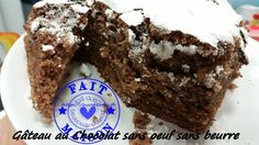 Gâteau au Chocolat sans oeuf, sans beurre ( au Thermomix )