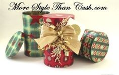 Make Fabulous Cheap Christmas Cookie Tins From Cans (♥ this!)