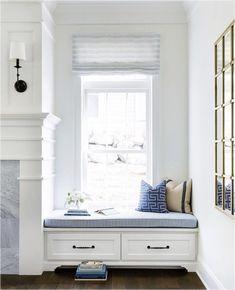 ideas living room white sofa reading nooks for 2019 Living Room White, White Rooms, Living Room Colors, New Living Room, Living Room Modern, Living Room Designs, Living Room Decor, White Bedroom, Living Room Arrangements